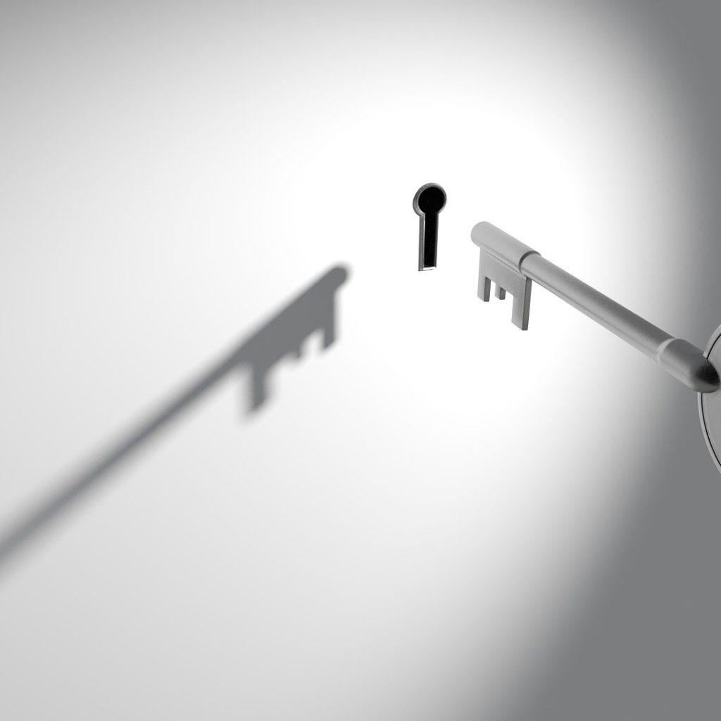 unlock privacy key